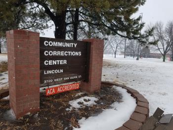 CCC-L sign in snow