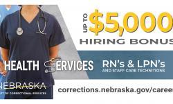 Health Services hiring bonus