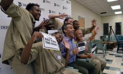 Entrepreneurs In Training bond with volunteers