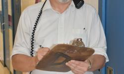 Unit Case Manager Michael Arthur smiling