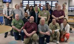 Veterans Service Group members and staff